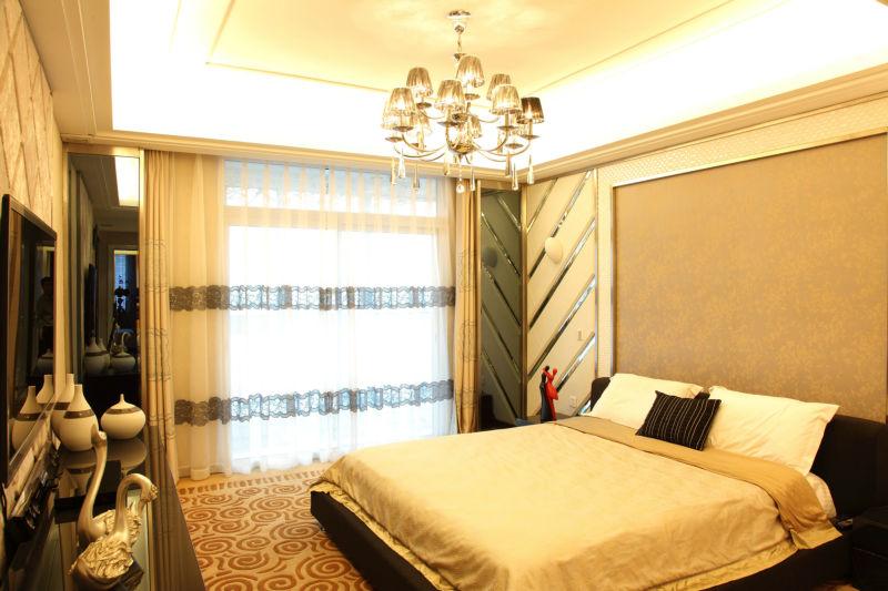 绿地圣路易 142平米 现代简约 卧室图片来自cdxblzs在绿地圣路易 142平米 现代简约的分享