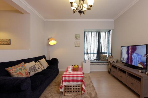 二居 80后 白领 客厅图片来自天津都市新居装饰有限公司在河东红城 美式风格 都市新居的分享