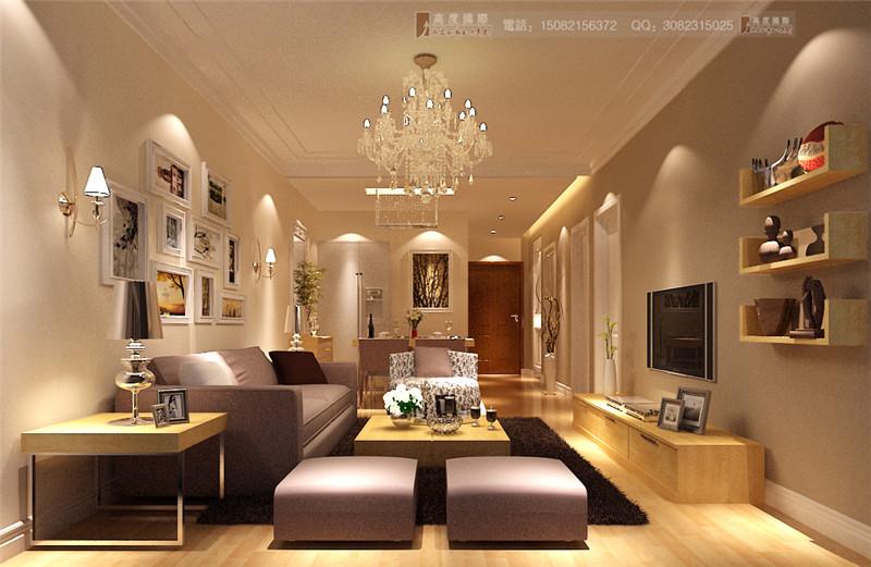 高度国际 客厅图片来自成都高端别墅装修瑞瑞在85平米现代简约-成都高度国际的分享