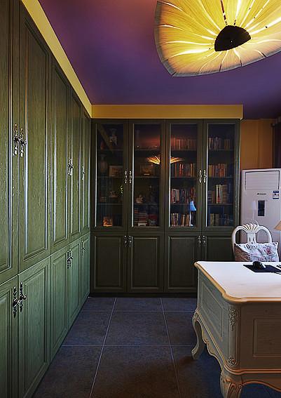 书房图片来自家装大管家在最炫民族风 156平混搭中式居的分享