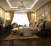 主卧将新古典主义的灯具配以洛可可式的梳妆台,古典床头蕾丝垂幔,再摆上一两件古典样式的装饰品,让人们体会到古典的优雅与雍容。也别有一番尊贵温暖的感觉。