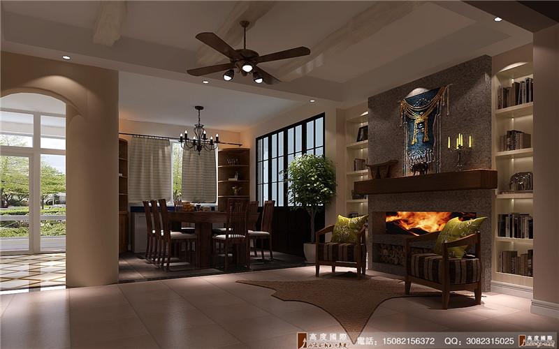高度国际 餐厅图片来自成都高端别墅装修瑞瑞在200平米后现代-成都高度国际的分享