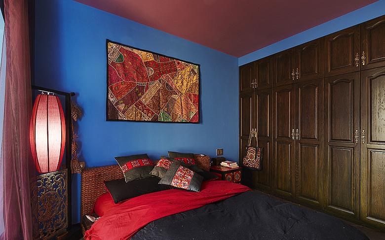 卧室图片来自家装大管家在最炫民族风 156平混搭中式居的分享