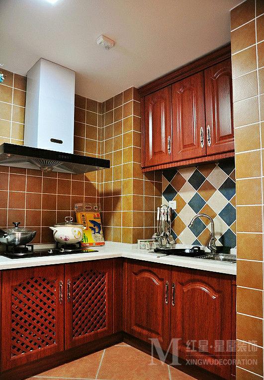 简约 田园 二居 白领 80后 小资 龙城一号 厨房图片来自红星星屋装饰在龙城一号-田园风格的分享