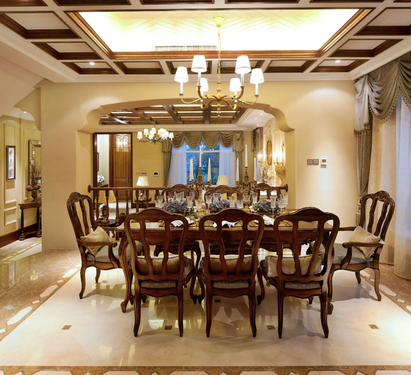 彭州金盆 餐厅图片来自cdxblzs在彭州金盆花园 320平米 古典欧式的分享