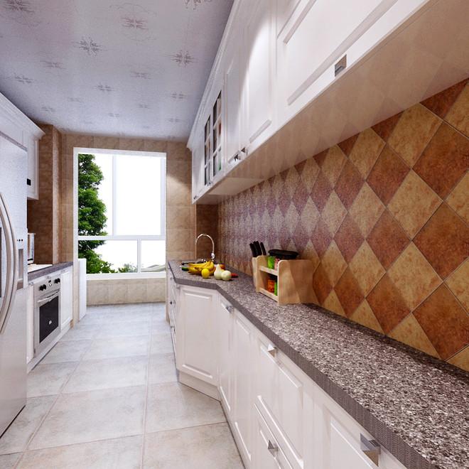 欧式 二居 白领 厨房图片来自天津都市新居装饰有限公司在河西亚中花园 欧式 都市新居的分享