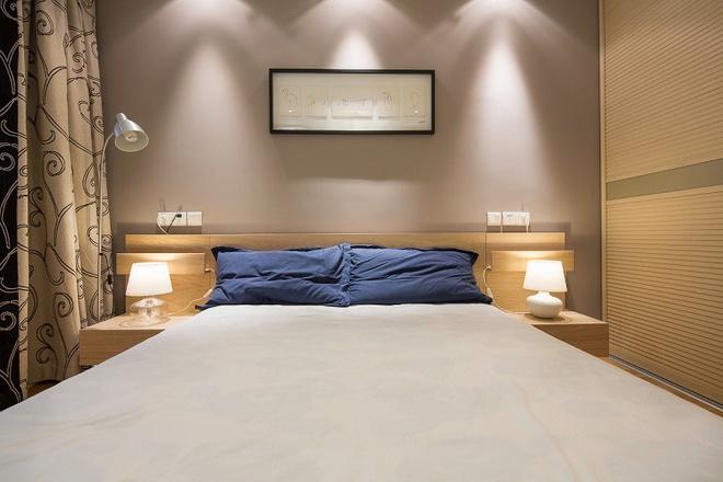 二居 白领 80后 卧室图片来自天津都市新居装饰有限公司在河北德丰花园 日式 都市新居的分享