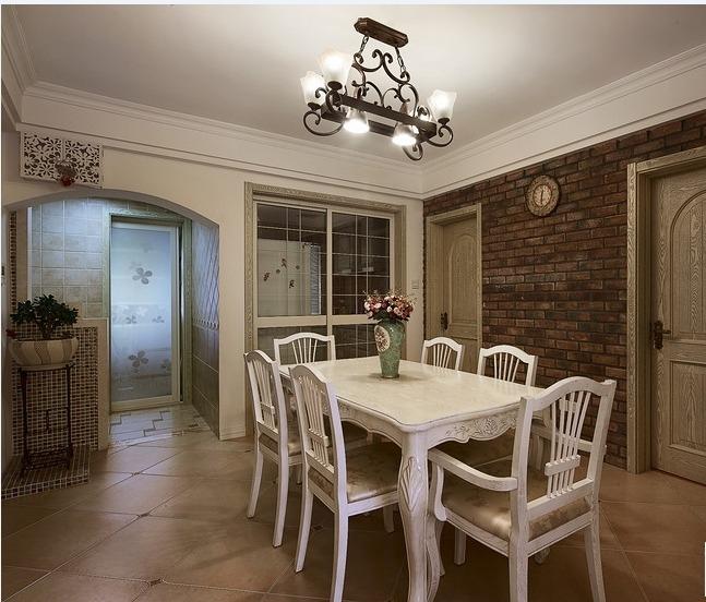 三居 田园 家庭装修 阿拉奇设计 餐厅图片来自阿拉奇设计在韩式田园家庭装修的分享