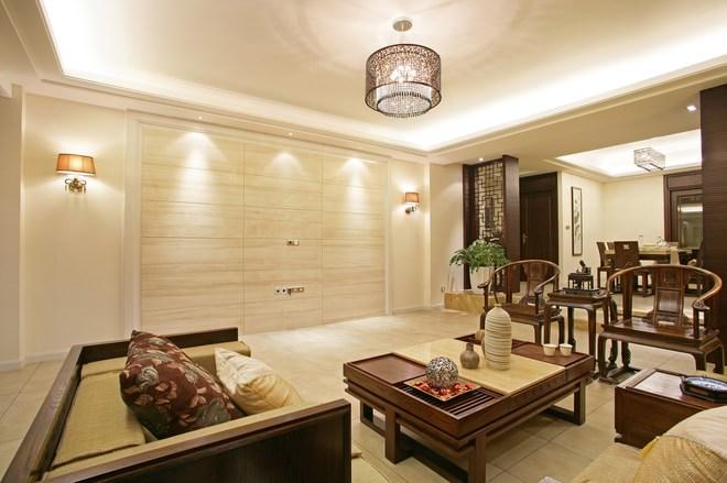 三居 白领 别墅 80后 客厅图片来自天津都市新居装饰有限公司在南开宇正园 新古典 都市新居的分享