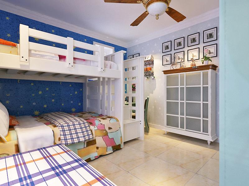 田园 三居 儿童房设计图片来自城市人家石家庄店在翰林观天下美式田园风格三室两卫的分享