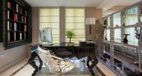 二居 新古典 大气 舒适 典雅 书房图片来自佰辰生活装饰在260平新古典大气舒适房的分享
