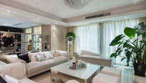二居 新古典 大气 舒适 典雅 客厅图片来自佰辰生活装饰在260平新古典大气舒适房的分享