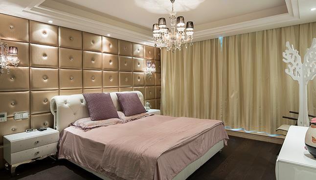二居 新古典 大气 舒适 典雅 卧室图片来自佰辰生活装饰在260平新古典大气舒适房的分享