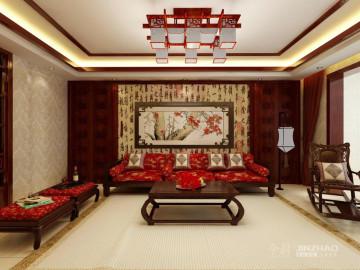 尚水苑140平-新中式风格