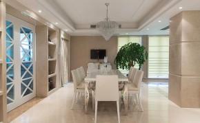 二居 新古典 大气 舒适 典雅 餐厅图片来自佰辰生活装饰在260平新古典大气舒适房的分享