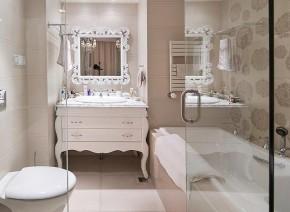 二居 新古典 大气 舒适 典雅 卫生间图片来自佰辰生活装饰在260平新古典大气舒适房的分享