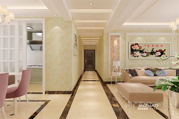 壁纸家具配饰的搭配使用,使空间更加丰富温馨,达到各功能空间融会贯通的目的。舒适、典雅主义在本案中得到了淋漓尽致的体现。