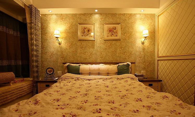 美式 田园 小清新 卧室图片来自佰辰生活装饰在30万打造美式田园小清新风格的分享