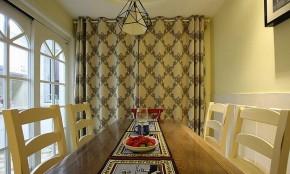 美式 田园 小清新 餐厅图片来自佰辰生活装饰在30万打造美式田园小清新风格的分享