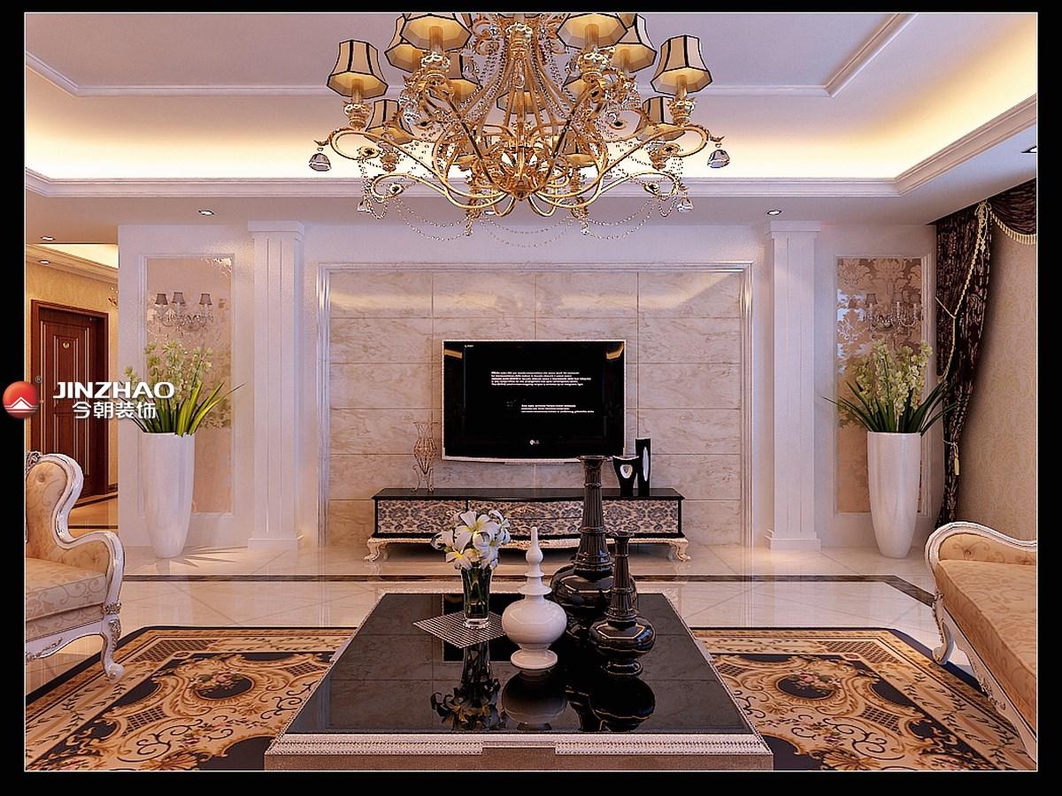 欧式 客厅图片来自152xxxx4841在万景苑331平欧式的分享