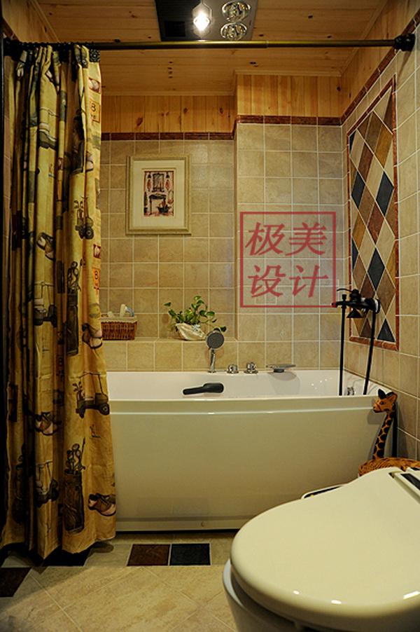 三居 田园 卫生间图片来自徐春龙设计师在花花世界的分享