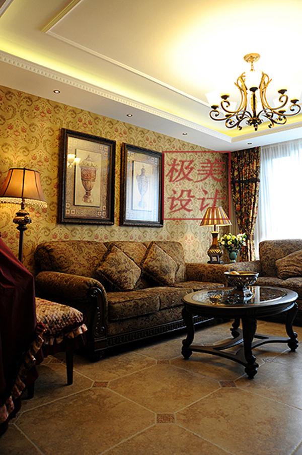 三居 田园 客厅图片来自徐春龙设计师在花花世界的分享