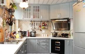 简约 二居 地中海 小清新 浪漫 厨房图片来自佰辰生活装饰在地中海遇见小清新温馨居的分享
