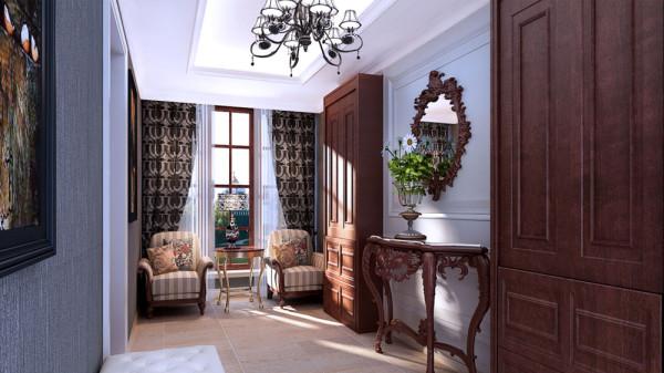 后期的软装配饰及挂画,多采用植物及花草来衬托出家庭的和谐美。