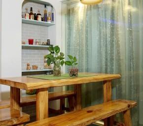 简约 二居 地中海 小清新 浪漫 餐厅图片来自佰辰生活装饰在地中海遇见小清新温馨居的分享
