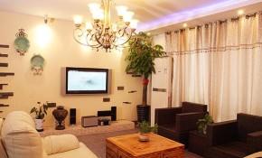 简约 二居 地中海 小清新 浪漫 客厅图片来自佰辰生活装饰在地中海遇见小清新温馨居的分享