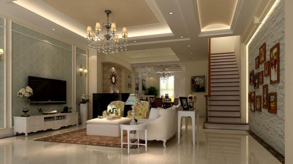 """本方案是采用以美式乡村为主设计理念,利用田园风格的装饰元素打造轻松、自由的家居舒适环境,""""美式乡村""""自然就成为家居设计的一种风尚。"""