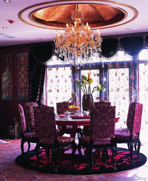 新古典 三居 旧房改造 小资 白领 今朝装饰 朝阳 餐厅图片来自今朝装饰老房装修通王在150新古典风格的分享