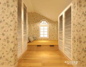 田园 地中海 自然 小清新 榻榻米 卧室图片来自泥巴公社设计师李轶在清新田园 湘瑞家园的分享