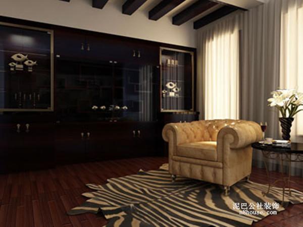 古典欧式 贵族 奢华 别墅 书房 书房图片来自泥巴公社设计师戴鲁君缘在融科檀香山的分享