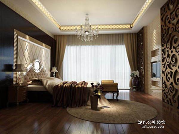 古典欧式 贵族 奢华 别墅 卧室 卧室图片来自泥巴公社设计师戴鲁君缘在融科檀香山的分享