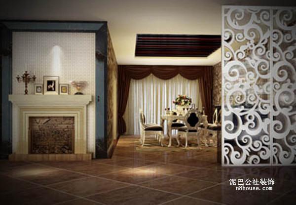 古典欧式 贵族 奢华 别墅 餐厅 餐厅图片来自泥巴公社设计师戴鲁君缘在融科檀香山的分享