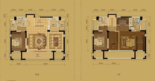 B2户型3室2厅3卫1厨 182.00㎡