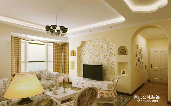 田园 地中海 自然 小清新 客厅 客厅图片来自泥巴公社设计师李轶在清新田园 湘瑞家园的分享