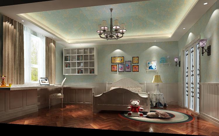 托斯卡纳 顶层带阁楼 儿童房图片来自高度国际装饰设计集团凌军在鲁能七号院185平米托斯卡纳的分享