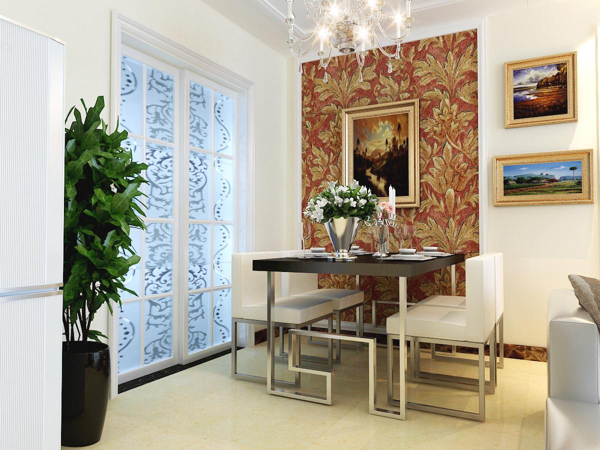 小资 现代简约 三室二厅 阿尔卡迪亚 业之峰案例 餐厅图片来自石家庄业之峰装饰虎子在阿尔卡迪亚130平米现代风格的分享
