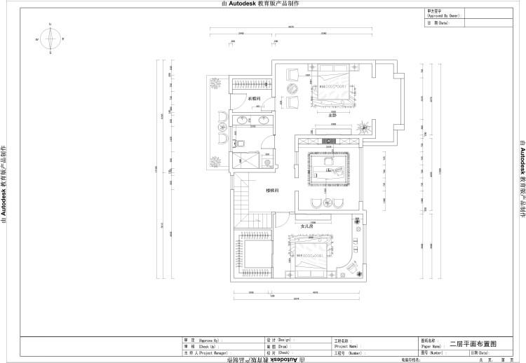 托斯卡纳 顶层带阁楼 户型图图片来自高度国际装饰设计集团凌军在鲁能七号院185平米托斯卡纳的分享