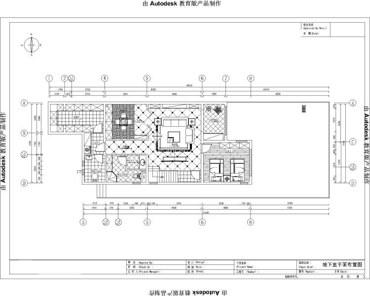 托斯卡纳 别墅 户型图图片来自高度国际装饰设计集团凌军在龙湖香醍溪岸270平米托斯卡纳的分享