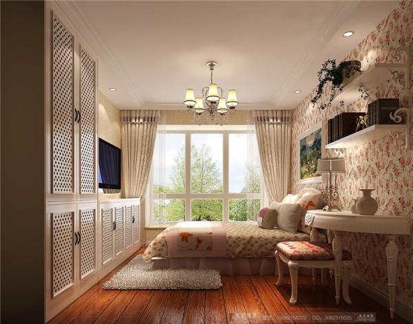 富临理宫卧室细节效果图-成都高度国际装饰