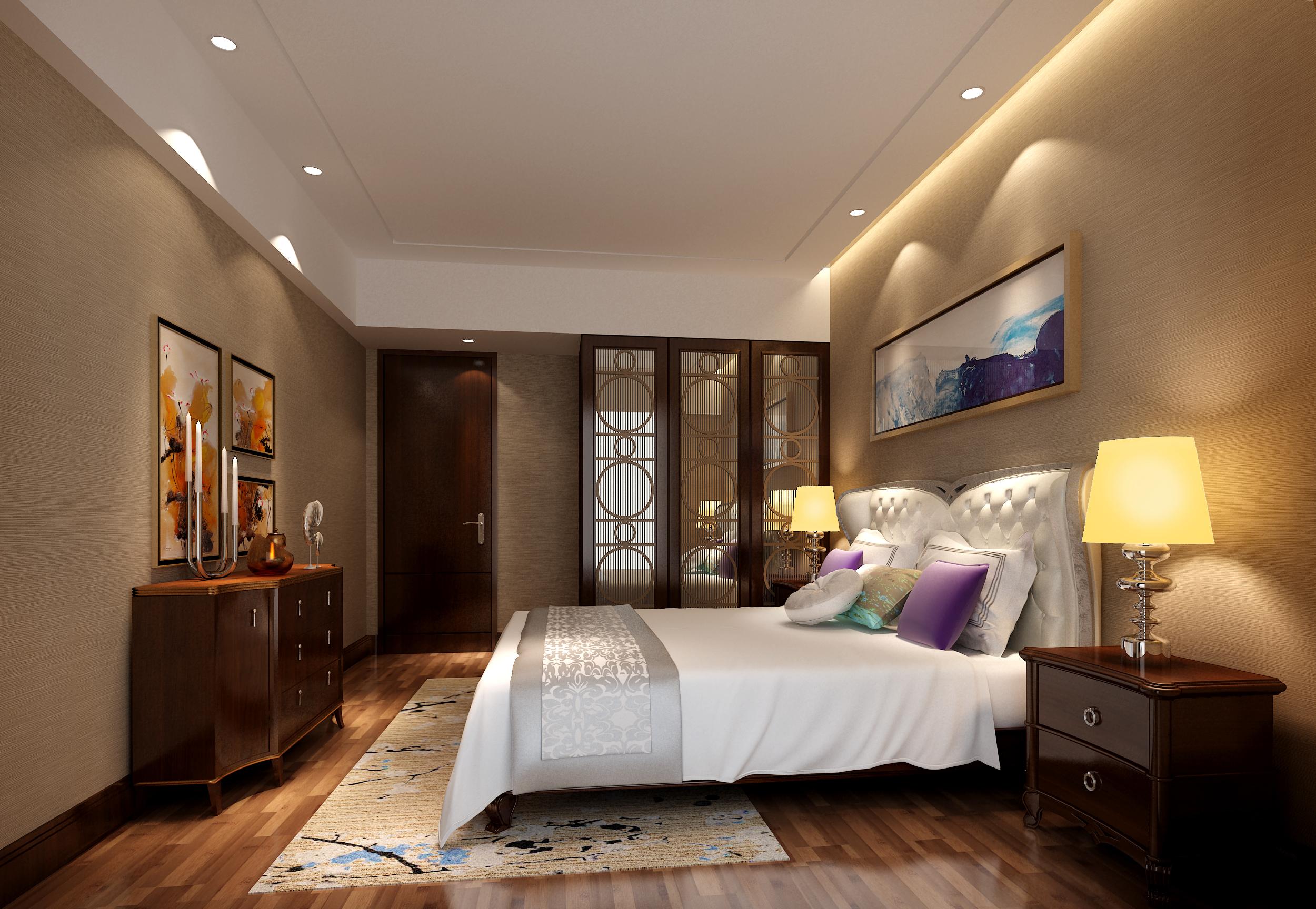 提拉米苏 中式 卧室 卧室图片来自北京合建装饰单聪聪在提拉米苏的分享