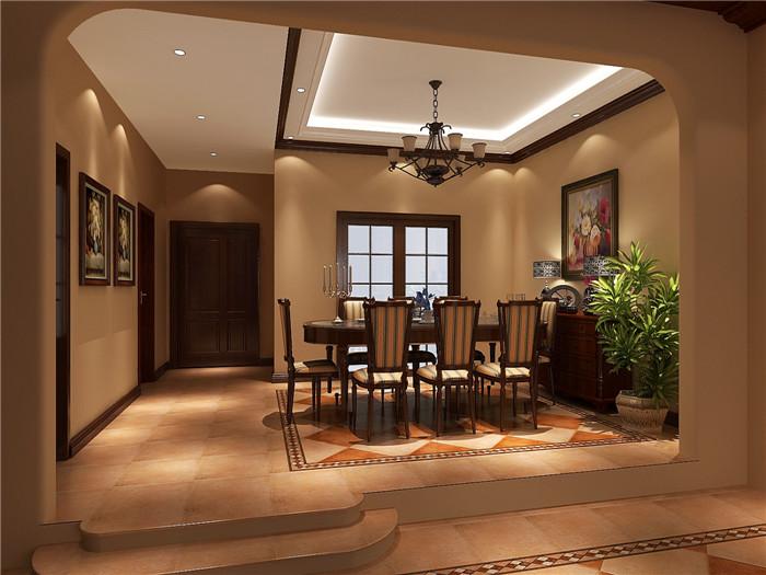 托斯卡纳 三居 别墅 餐厅图片来自高度国际装饰设计集团凌军在龙湖香醍漫步300平米托斯卡纳的分享