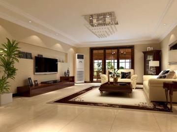百旺家园 三居室装饰设计效果图