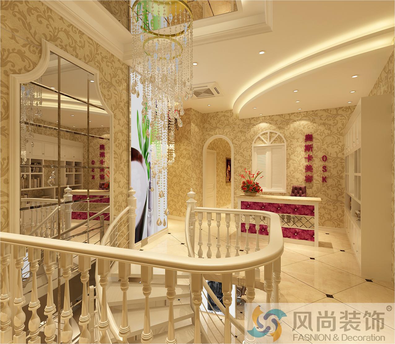 小资 80后 白领 美容美发 时尚 欧式图片来自浙江风尚装饰在奥斯卡美容美发会所的分享
