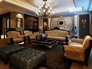 中海铂宫,别墅欧式设计家装经典