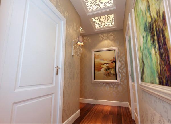设计理念:巧妙的廊道是转换空间心情的重要分界,一边是属于全家人欢聚、亲朋好友造访时的共享场域,一边是家人各自的生活空间,清楚的分割提供空间的私密与开放界限。