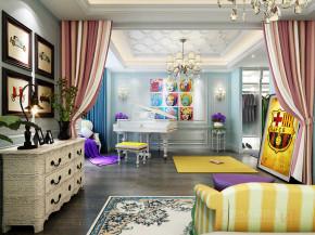 欧式 新古典 四居 收纳 小资 儿童房图片来自西安城市人家装饰王凯在金地湖城大境180平新古典风格的分享